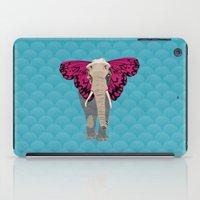 Elephant Butterfly iPad Case