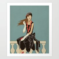 Oh To Be French In The 3… Art Print
