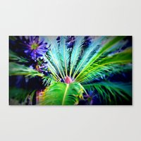 Tropical Plants And Flow… Canvas Print