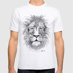Cool Cat Mens Fitted Tee Ash Grey SMALL