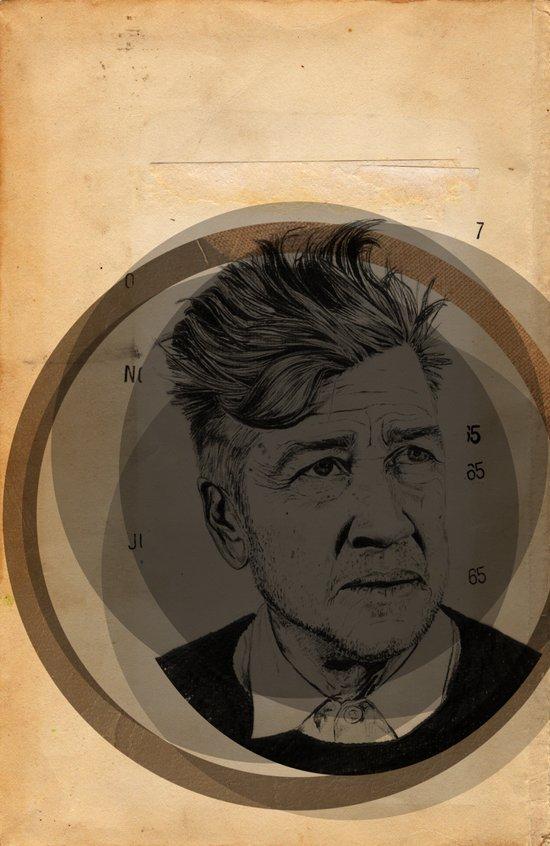 David Lynch Globe Art Print