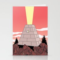 Pyramid Stationery Cards