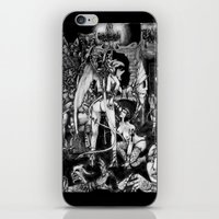 In Hell We Are The Cockr… iPhone & iPod Skin
