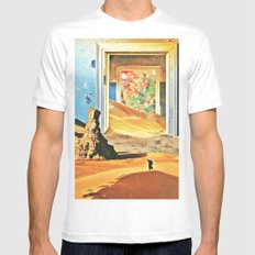 Through the Door Mens Fitted Tee SMALL White