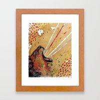 Lionhart Framed Art Print