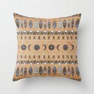 Good Morning Pattern Throw Pillow