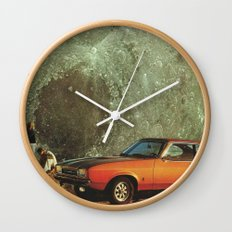 Just another day on earth Wall Clock