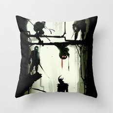 The Last Stand Throw Pillow