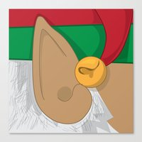 Good Elf.... Canvas Print