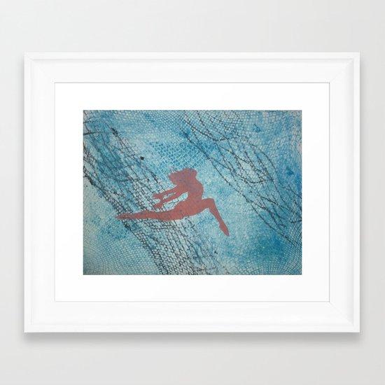 Thrill Framed Art Print