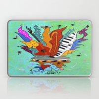 Blooming Notes V. Laptop & iPad Skin