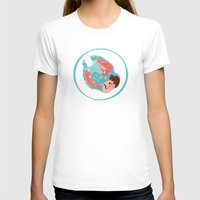 Thirsty Womens Fitted Tee White SMALL