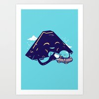 MotherShip Art Print