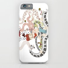 Love Piano Duet Slim Case iPhone 6s