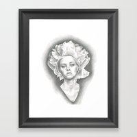 Imperial Paeonia Framed Art Print