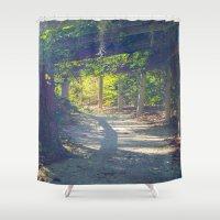 Secret garden  Shower Curtain