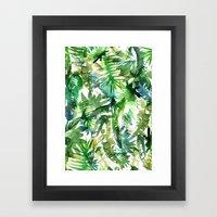 VIBE Of The Jungle  {A-g… Framed Art Print