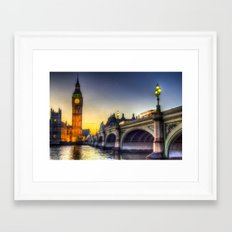 Westminster London Framed Art Print