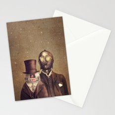 Victorian Robots  Stationery Cards