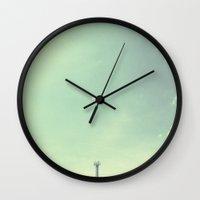 The Last Beacon. Wall Clock