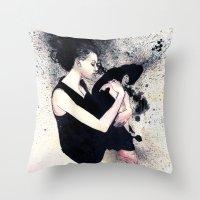 J Anne III Throw Pillow