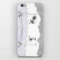 Little Love Story iPhone & iPod Skin