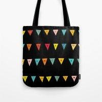 Love More (Black) Tote Bag