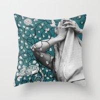 Mindblown. (chameleon) Throw Pillow
