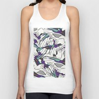 JRDN V GRAPE Unisex Tank Top