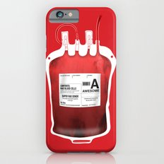 My Blood Type is A, for Awesome! *Classic* iPhone 6s Slim Case