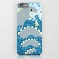 iPhone & iPod Case featuring serpent surprise by wanton doodle