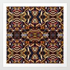 Angle Land Extrapolated Art Print