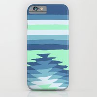 MINT SURF GIRL iPhone 6 Slim Case