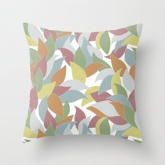 My simple leaves. Throw Pillow