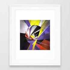 Mondrian's Makeover Framed Art Print