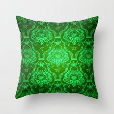 Cthulhu Damask Throw Pillow
