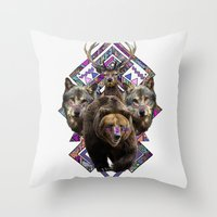 ▲NANUK▲ Throw Pillow