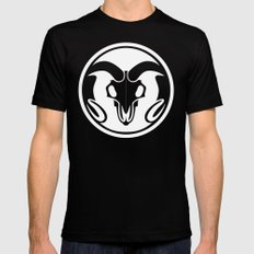 Day of the Ram White SMALL Black Mens Fitted Tee