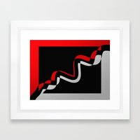 Modern art Framed Art Print