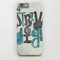 iPhone & iPod Case featuring Strive High by Julia Sonmi Heglund