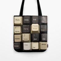 Custom Keyboard Tote Bag