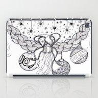 Christmas Zentangle Swag… iPad Case