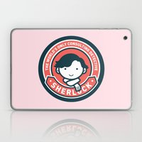 Sherlock - Cute Sherlock Holmes in Red Laptop & iPad Skin