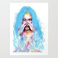 My True Colors Art Print