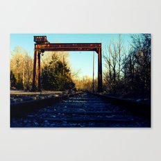 Less Traveled  Canvas Print