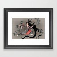 Tai Chi-ing Framed Art Print