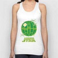 Green Star Unisex Tank Top