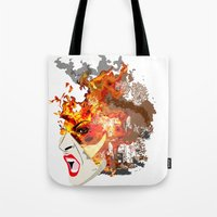 Fire- from World Elements Series Tote Bag