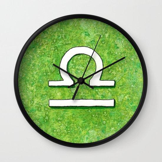 Zodiac sign : Libra Wall Clock