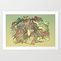 The Hills Are Alive With… Art Print